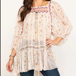 NWT Free People Dance The Magic Tunic Size M